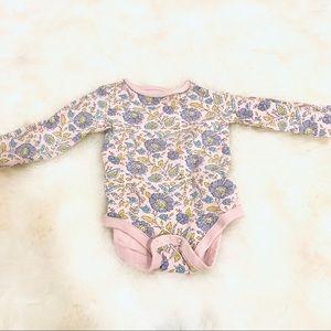 Gymboree 6-12 months floral onesie